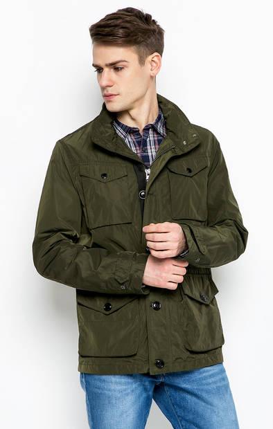 Куртка со скрытым капюшоном