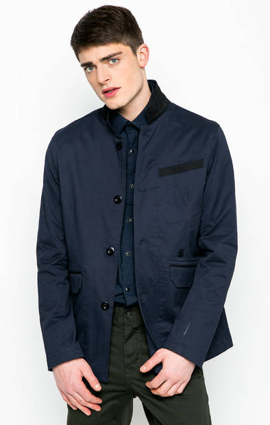 Хлопковая куртка на пуговицах