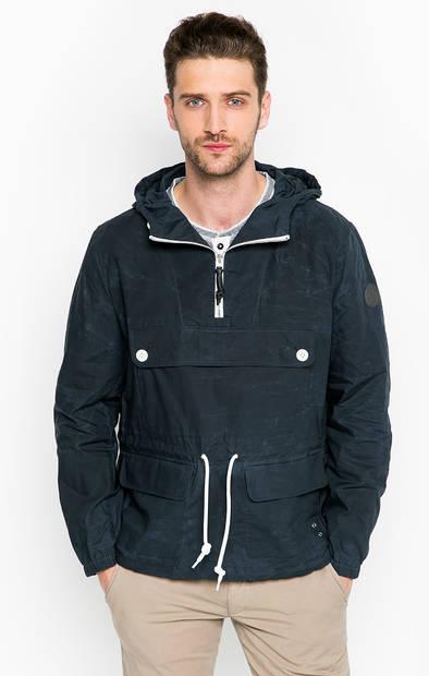 Хлопковая куртка с карманами