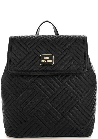 Стеганый рюкзак с тонкими лямками