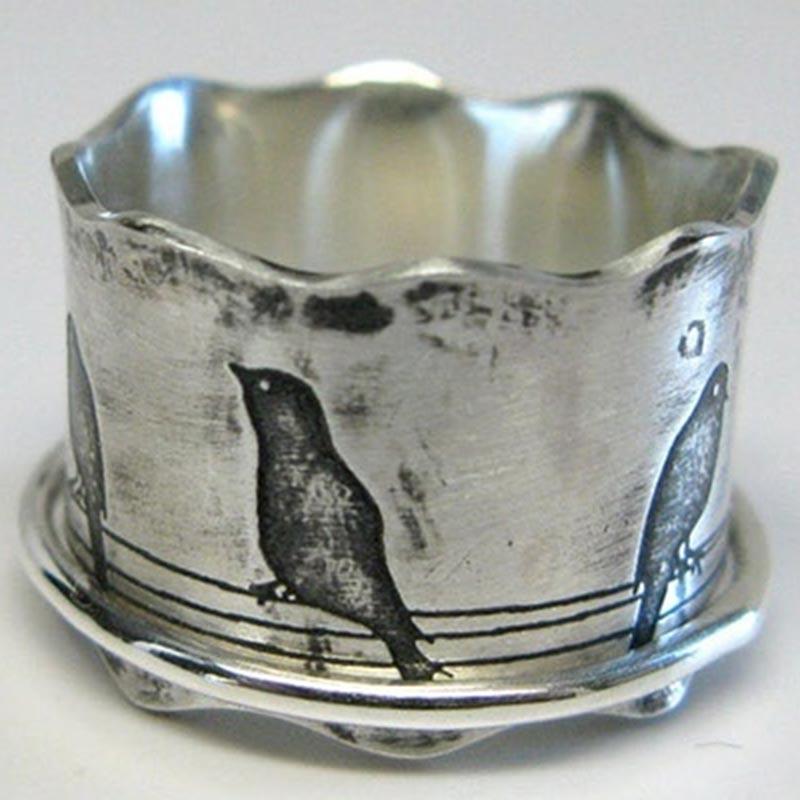 Кольца Птицы винтажные для женщин, Новое поступление 2021, лидер продаж, массивное Женское Обручальное кольцо, женское обещание, ювелирные из...