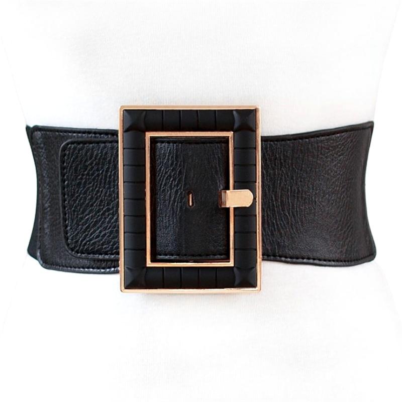 2021 женские ремни модны международным тенденциям 10 см WidthPin Дизайн искусственная кожа ремни для мужчин и женщин