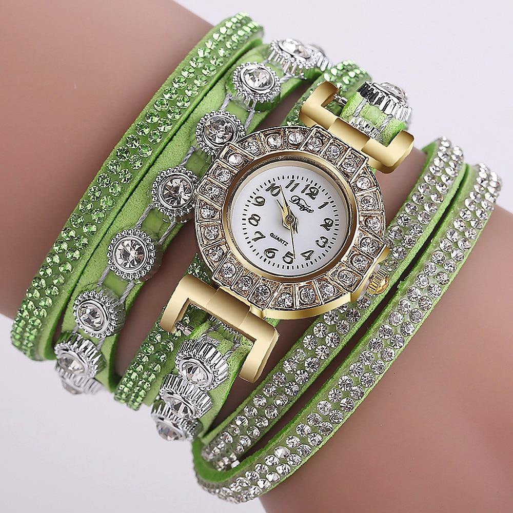 Часы наручные женские кварцевые аналоговые с пряжкой-крючком