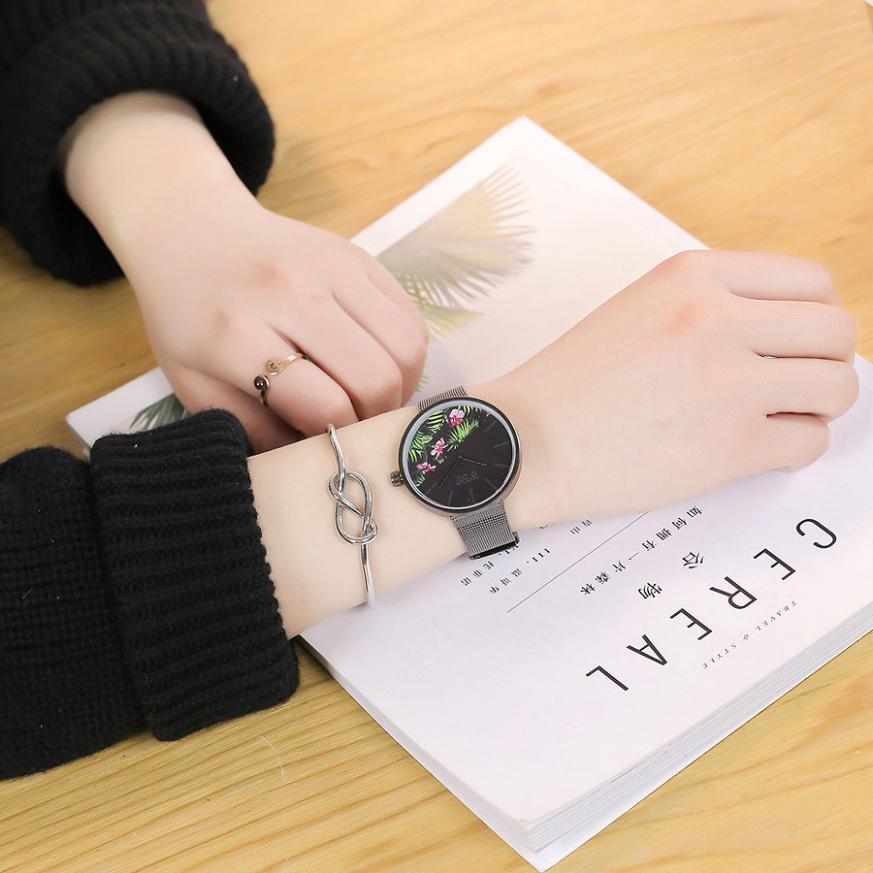 Лидирующий бренд, модные кварцевые часы для женщин, женские часы для девушек, стальной ремешок, наручные часы, женские часы, Montre Femme, Relogio Feminino...