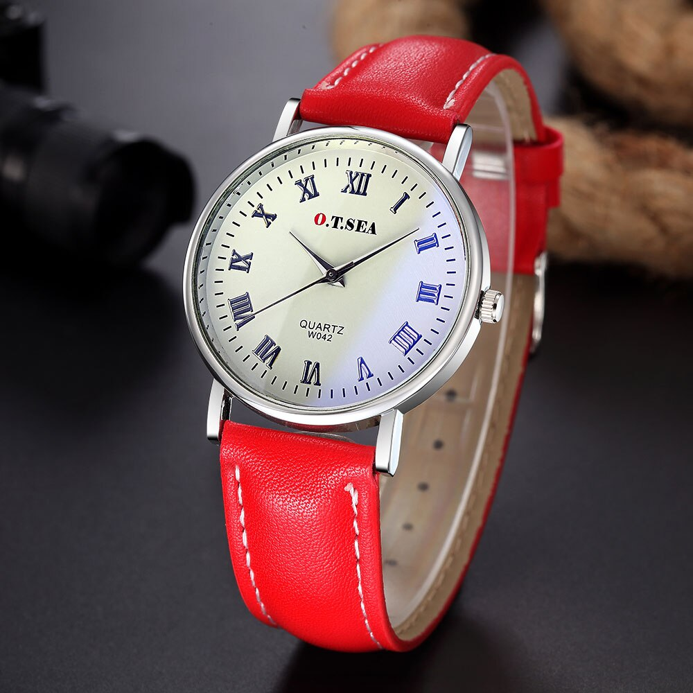 Люксовый бренд, кожаный модный браслет, кварцевые часы для мужчин и женщин, наручные часы, Relogio Feminino Masculino