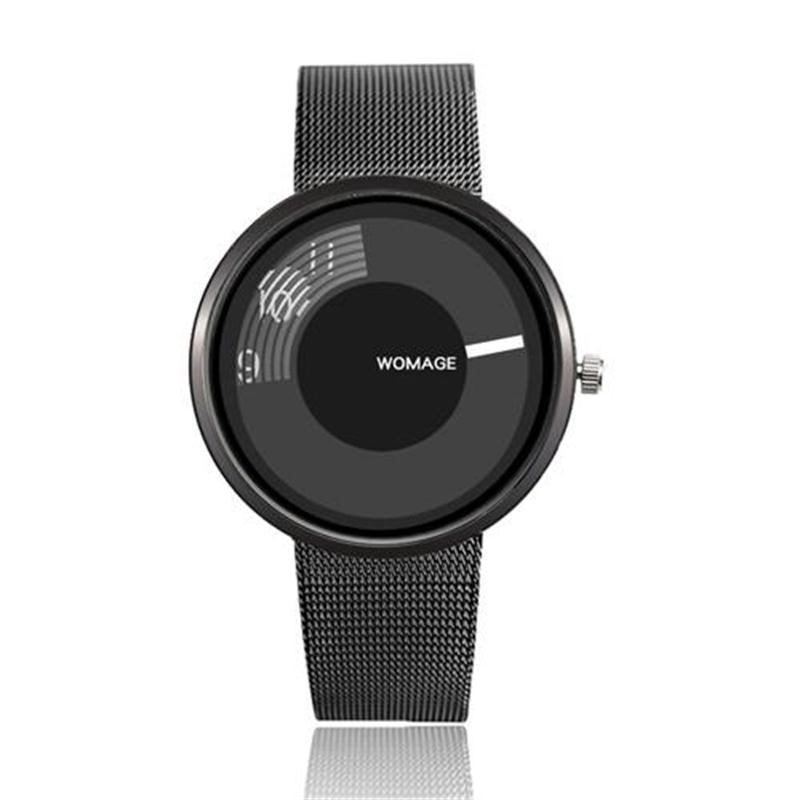 Новые модные женские часы Элегантные Простые Стильные кварцевые часы люксовый бренд WoMaGe наручные кварцевые часы женские часы Reloj Mujer
