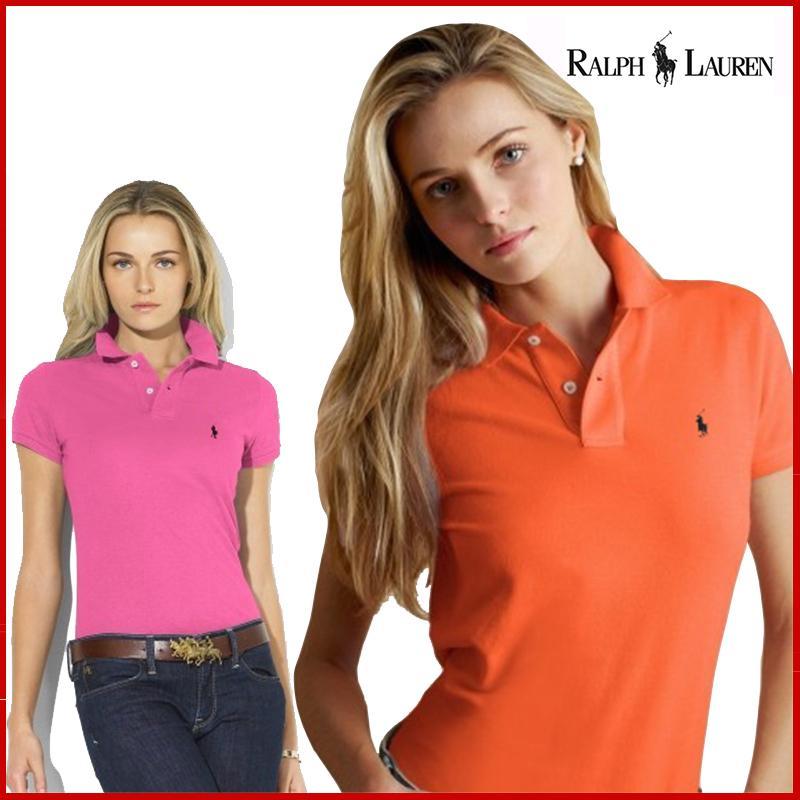 Оригинальный бренд женские рубашки-поло летние модные женские топы с отложным воротником, Повседневная футболка с короткими рукавами хлоп...