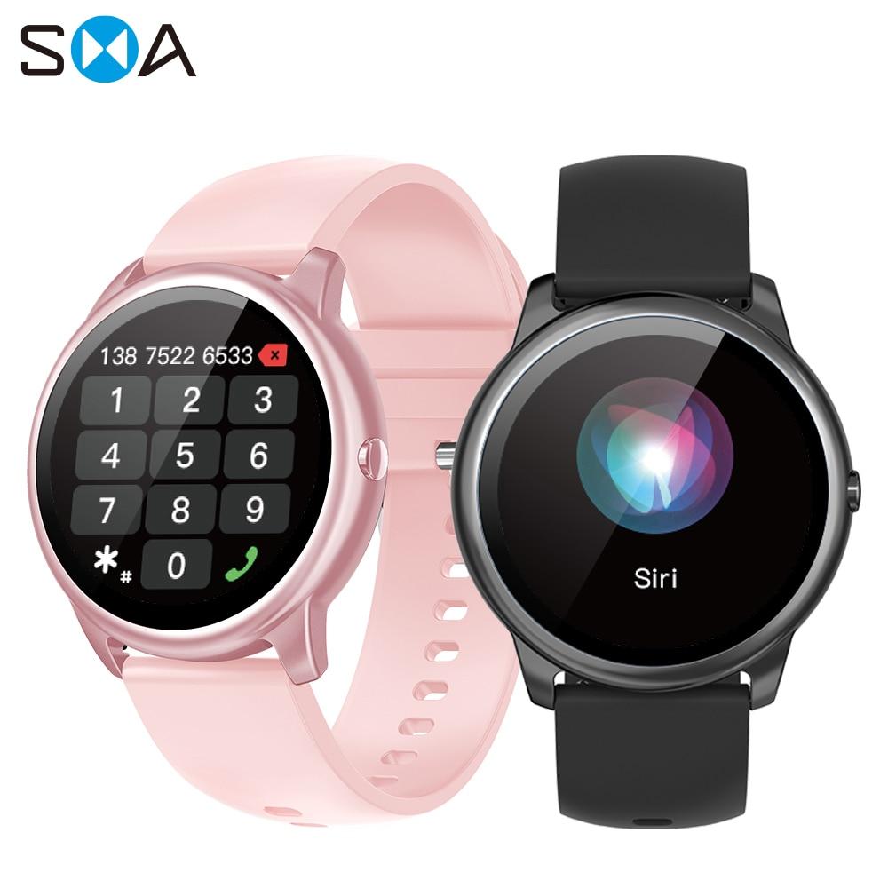 Смарт-часы SMA R7 для мужчин и женщин, водонепроницаемые Смарт-часы с Bluetooth 2021 для фитнеса, звонков, Смарт-часы Mi для Xiaomi, Android, Huawei