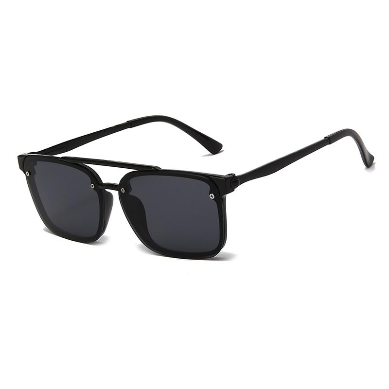 Солнцезащитные очки в стиле ретро UV400 для мужчин и женщин, поляризационные, в цветной квадратной оправе, в винтажном стиле, для вождения