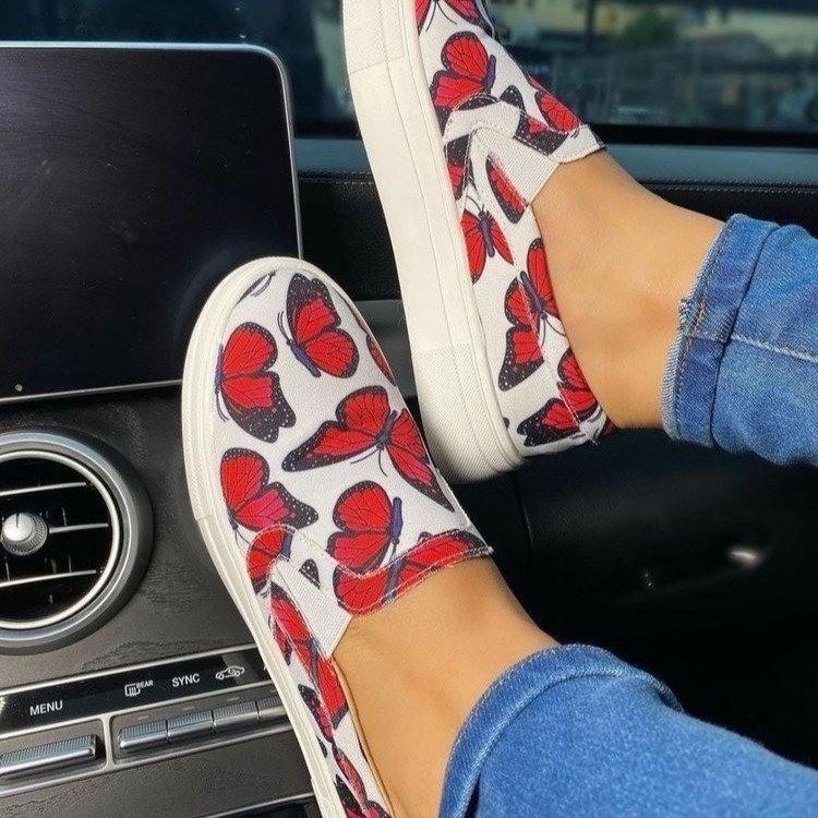 Туфли женские с низким верхом, повседневные уличные туфли на плоской подошве, обувь для скейтборда, разные размеры, весна-осень
