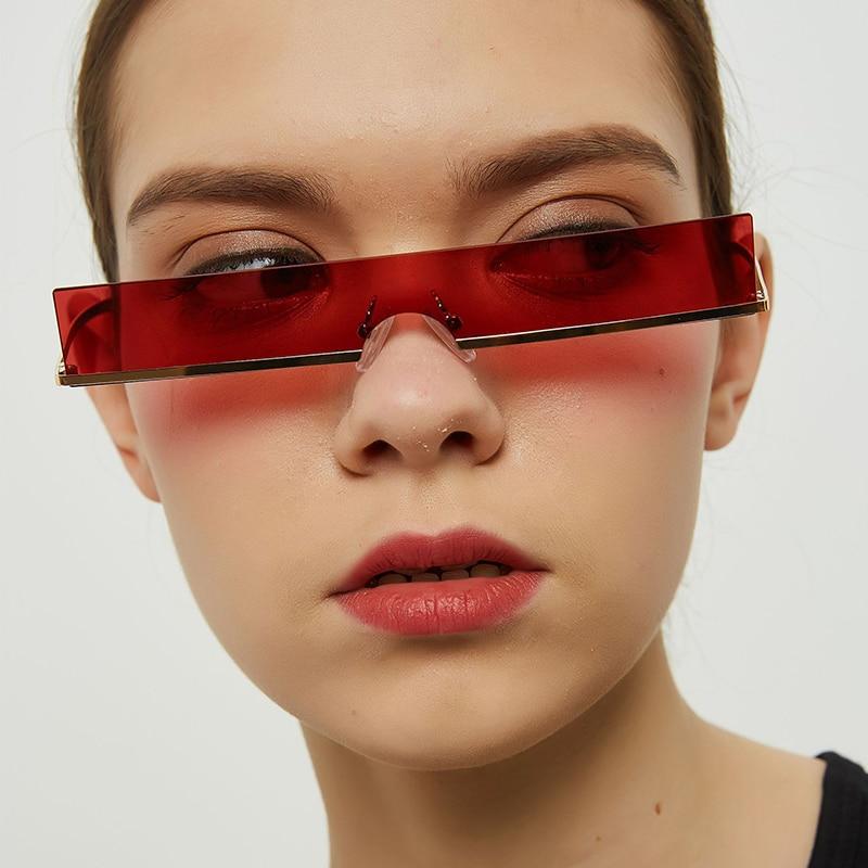 Женские прямоугольные солнцезащитные очки, пикантные Роскошные модные дизайнерские солнечные очки от известного бренда UV400 в стиле ретро